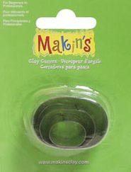 makins набор резцов для полимерной глины геометрические фигуры в комплекте 22шт