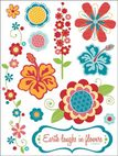 Глиттер-стикер Nature Design Shop Stickers 11,43 х 15,24см