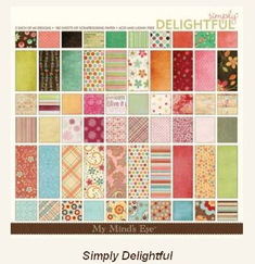 Набор бумаги Simply Delightful, 30,5 х 30,5 см