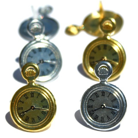 "Брадсы ""Часы"" Pocket Watch Brads, 14 х 22 мм,12 шт/уп-ке ― Интернет-магазин ""Чудо-Ларец"""