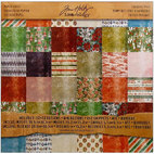 Набор бумаги Tim Holtz Idea-ology Paper Stash Holidays Past, 20 листов, 30,5 х 30,5 см