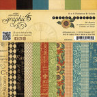 Набор бумаги French Country Patterns & Solids Paper, 36 листов, 15 х 15 см