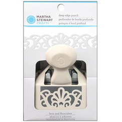 Дырокол бордюрный большой Martha Stewart Punch Deep Edge Fans And Flourish