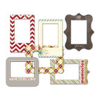 Фоторамки Merry Little Christmas Patterned Photo Frames, 6 шт/уп-кe