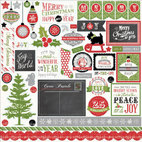 Кардсток - стикер Tis The Season Cardstock Stickers, размер 30,5 х 30,5 см