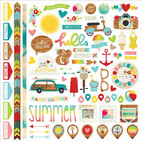 Кардсток - стикер Good Day Sunshine Cardstock Stickers, размер 30,5 х 30,5 см