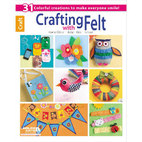 Книга Crafting With Felt, 32 страницы
