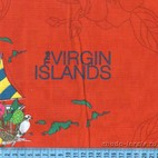 Ткань для лоскутного шитья The Virgin Islands, 100 %  хлопок