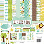 Набор бумаги Bundle Of Joy Boy, 12 листов, 30,5 х 30,5 см, украшения