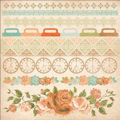 Кардсток - стикер These Days Cardstock Stickers, размер 30,5 х 30,5 см