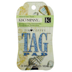 Теги K&Company Tag Pad Tim Coffey Travel