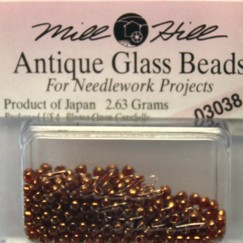 Бисер стекло Mill Hill Glass Seed Bead, 2,63 гр/уп-ке, цвет Antique Ginger