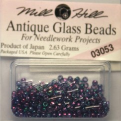 Бисер стекло Mill Hill Glass Seed Bead, 2,63 гр/уп-ке, цвет Antique Purple Passion