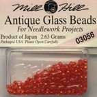 Бисер стекло Mill Hill Glass Seed Bead, 2,63 гр/уп-ке, цвет Antique Red