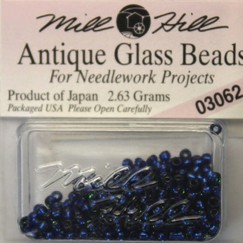 Бисер стекло Mill Hill Glass Seed Bead, 2,63 гр/уп-ке, цвет Antique Blue Velvet