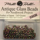 Бисер стекло Mill Hill Glass Seed Bead, 2,63 гр/уп-ке, цвет Antique Cognac