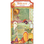 Вырубки Autumn Song Noteworthy Die-Cuts, Journaling & Shapes, 40 штук