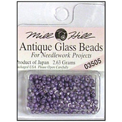 Бисер стекло Mill Hill Glass Seed Bead, 2,63 гр/уп-ке, цвет Antique Satin Purple