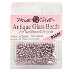 Бисер стекло Mill Hill Glass Seed Bead, 2,63 гр/уп-ке, цвет Antique Metallic Lilac