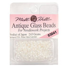 Бисер стекло Mill Hill Glass Seed Bead, 2,63 гр/уп-ке, цвет Antique White Opal